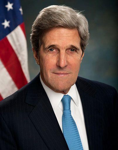 Na zdj. John Kerry