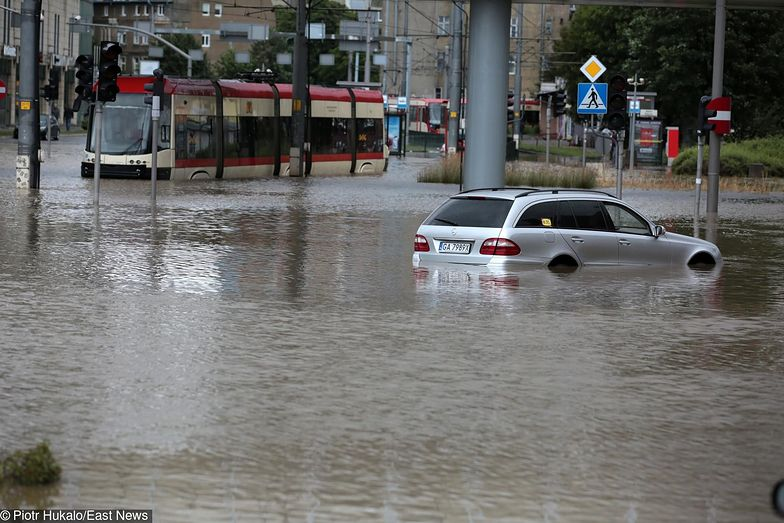 Powodzie miejskie występują również w miastach, które nie zostały zbudowane nad rzekami.