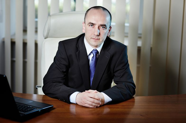 Michał Hamryszak, prezes TK Telekom