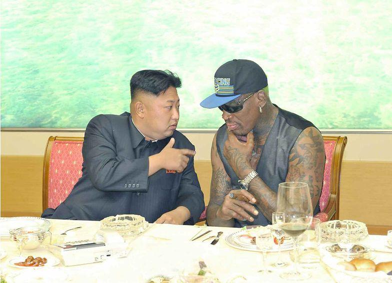 Dennis Rodman: przywódca Korei Płn. ma małą córeczkę