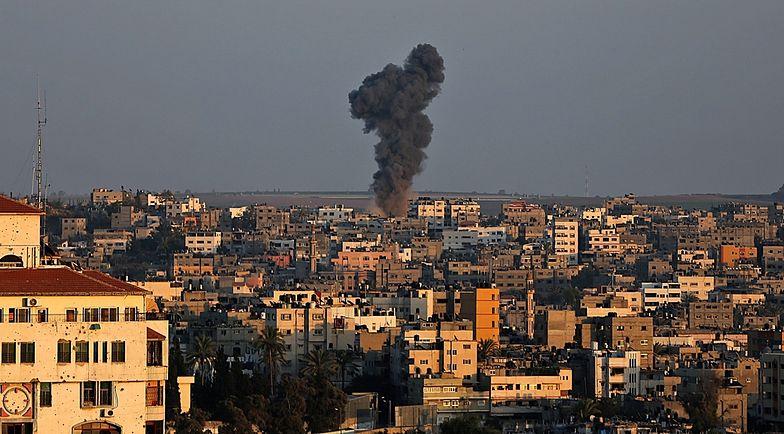 Wojna w Strefie Gazy. Dziecko i kobieta zginęły w izraelskim ataku