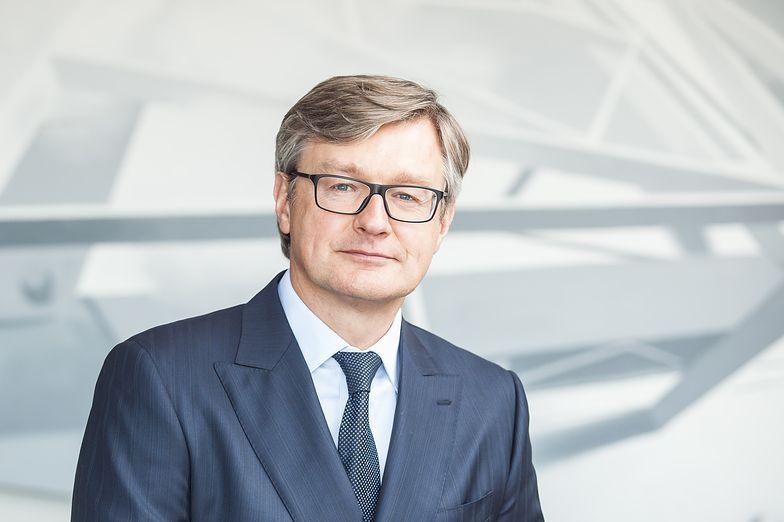 Dariusz Grzeszczak, prezes Erbudu
