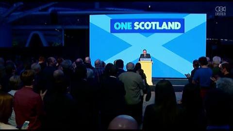 Lider Szkockiej Partii Narodowej przyjmuje wynik referendum