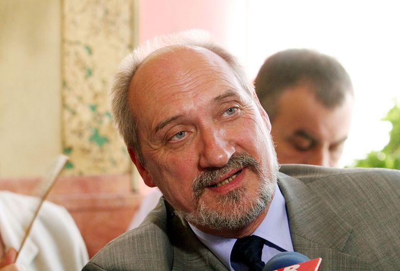 Minister Obrony Narodowej Antoni Maciarewicz
