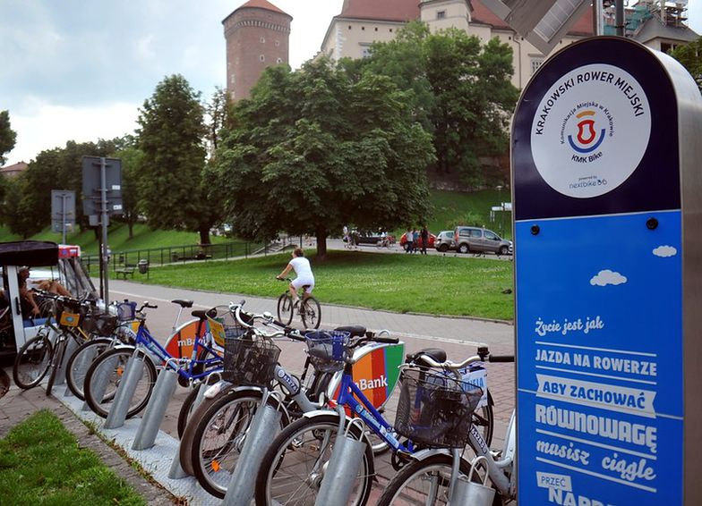System miejskich rowerów KMK Bike ruszył w Krakowie