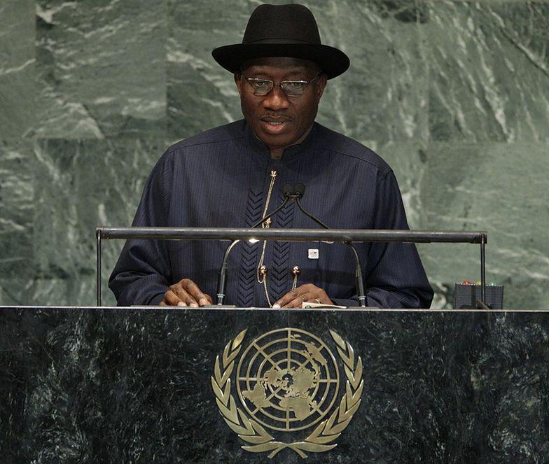 Goodluck Jonathan, prezydent Nigerii