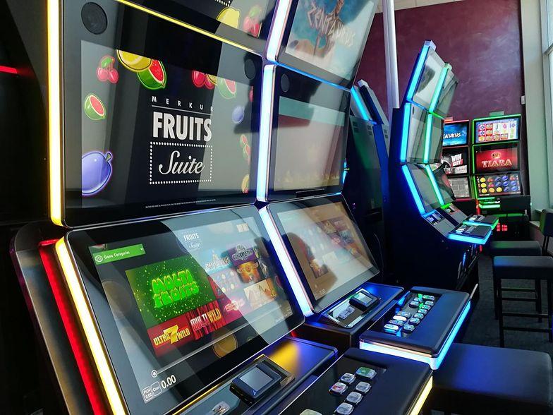 Automaty do gier od TS. Obroty przekraczają 10 mln zł