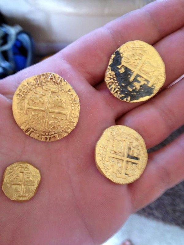 Rodzina z Florydy odnalazła skarb z XVIII wieku