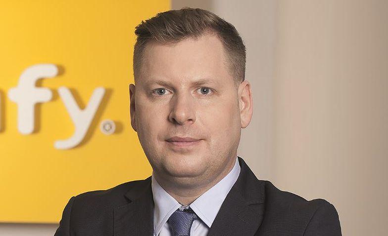 Radosław Borkowski, szef Somfy w Polsce