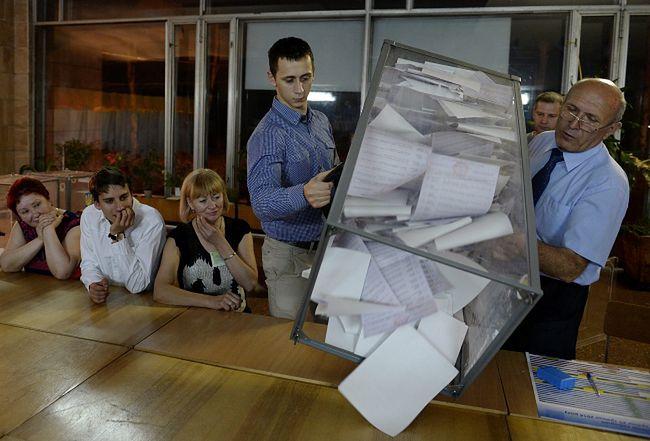 Wybory na Ukrainie. Ekspertka: separatyści nie złożą broni