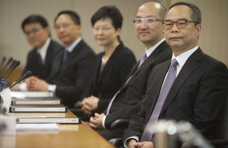 Protesty w Hongkongu. Szef administracji sugeruje pewne ustępstwa