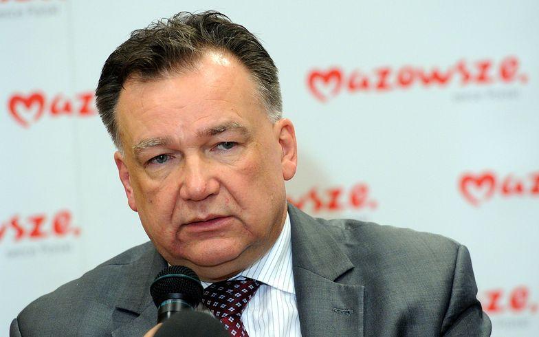 """Mazowieckie: Struzik chce zawiesić płacenie """"janosikowego"""""""