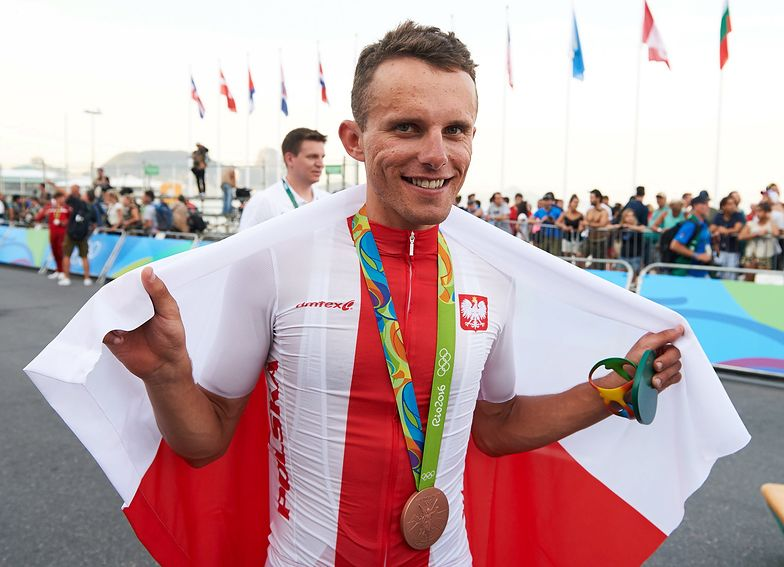 Rafał Majka, zdobywca pierwszego i na razie jedynego medalu dla Polski