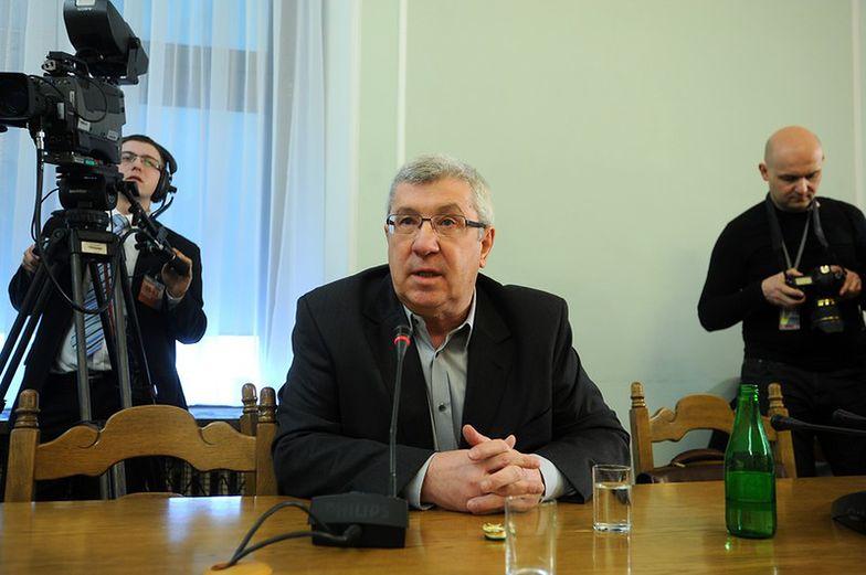 Jan Dworak, przewodniczący Krajowej Rady <br> Radiofonii i Telewizji