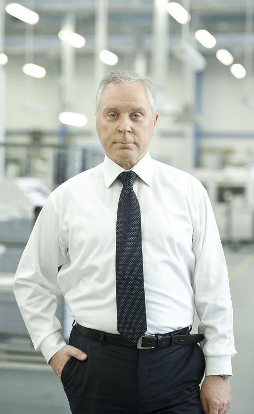 na zdjęciu: Leszek Żebrowski, prezes PGP