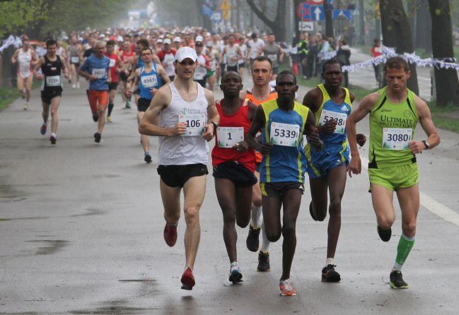 Cracovia Maraton. Pogoda dała się we znaki biegaczom