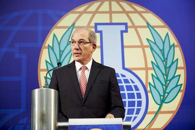 Na zdjęciu Ahmet Uzumcu, szef Organizacja ds. Zakazu Broni Chemicznej