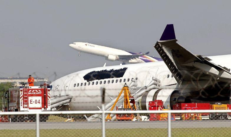 W Bangkoku rozbił się tajlandzki samolot