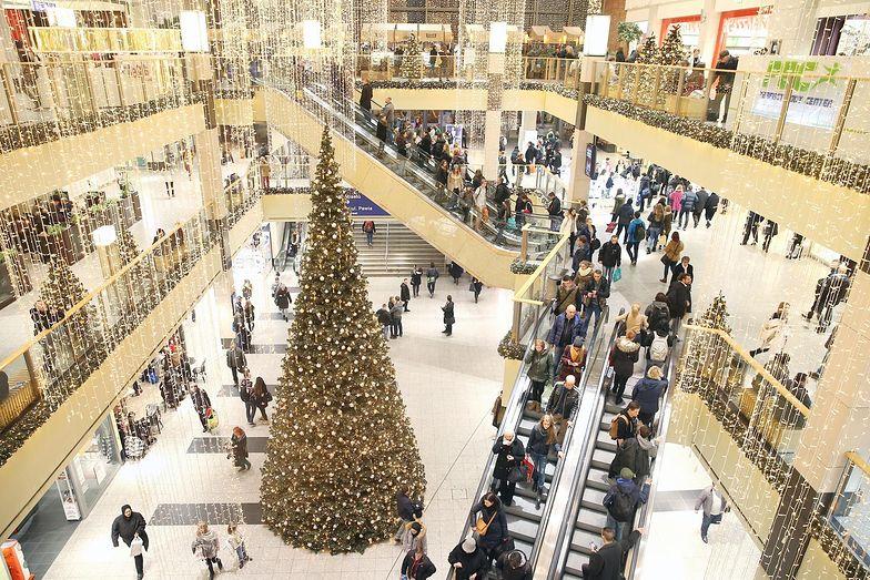 Mimo rosnących cen, w święta w galeriach handlowych były tłumy.
