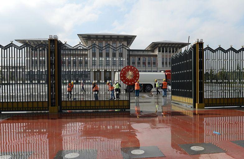 Pałac prezydencki w Ankarze w księdze Guinnessa
