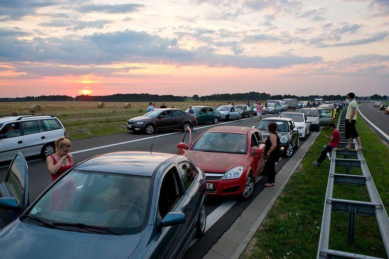 Utrudnienia na drogach w związku z protestami