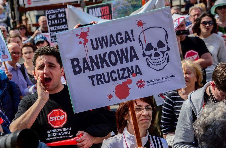 Protesty w Polsce pod hasłem Stop bankowemu bezprawiu