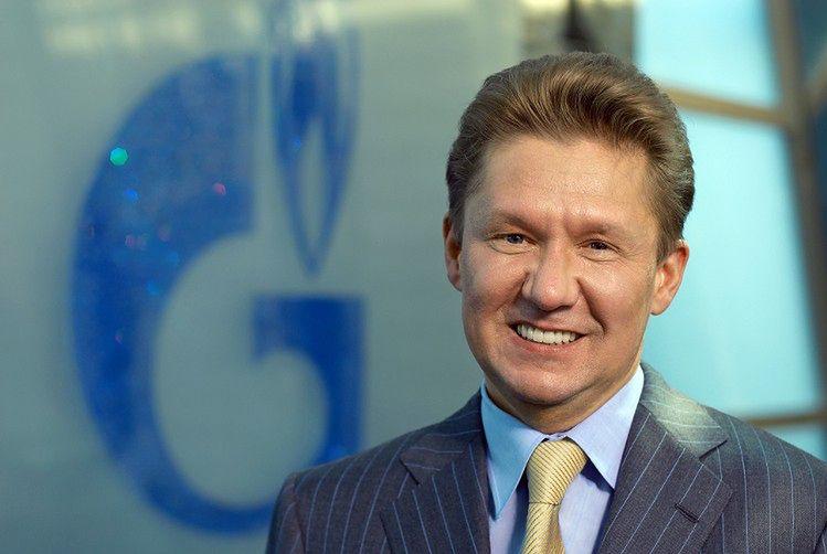 Na zdjęciu prezes Gazpromu, Aleksiej Miller</br>