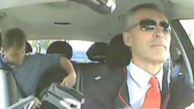 Premier Norwegii został taksówkarzem