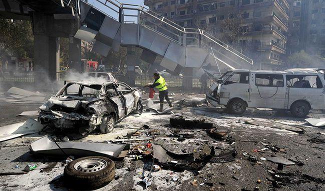 Damaszek po wybuchu wojny