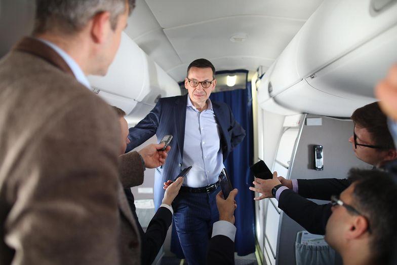 Mateusz Morawiecki ciemnymi mocami określa przestępców podatkowych. Walkę o wpływy porównuje do... losów Batmana