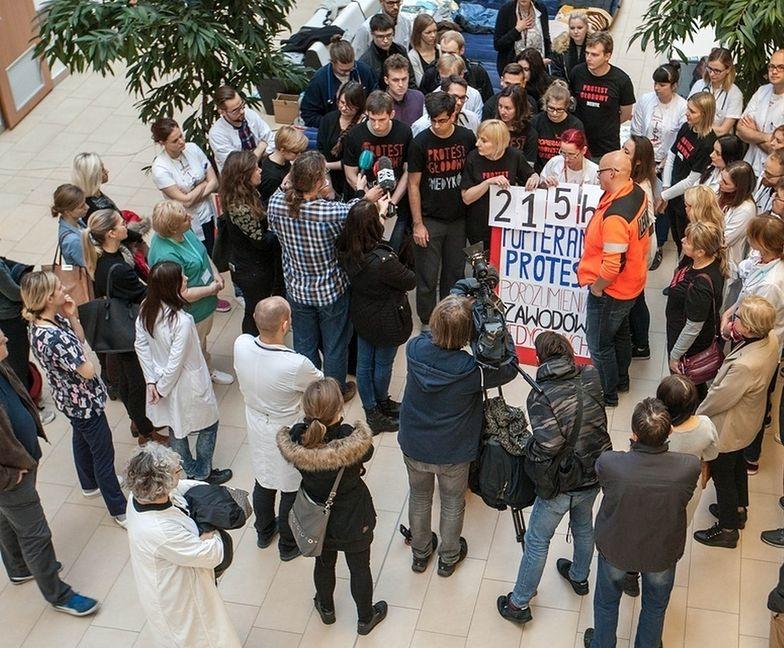 Rezydenci zapowiadają, że mogą wznowić protest