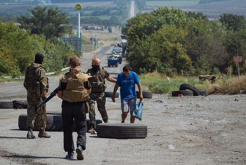"""Konflikt na Ukrainie. """"Żołnierze składają broń"""""""