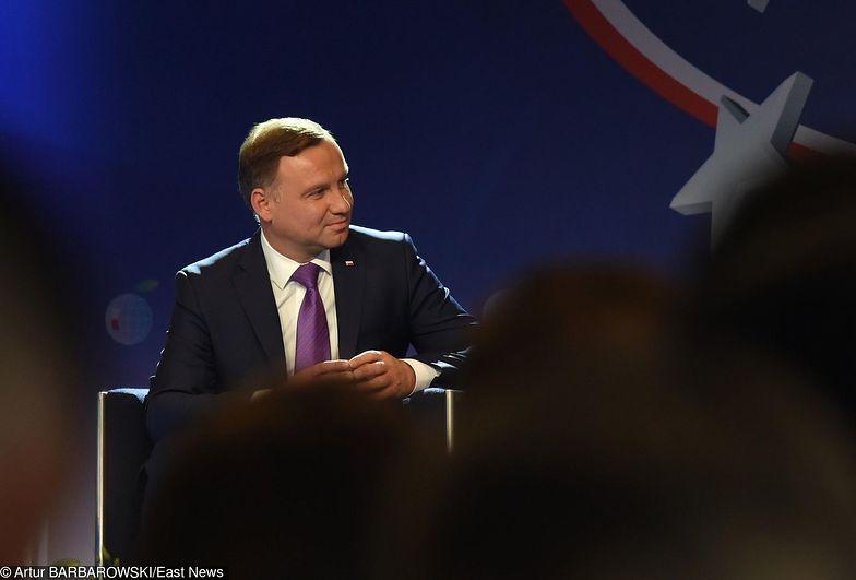 Andrzej Duda chce połączyć naukę z biznesem.
