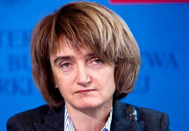 Maria Wasiak odwołana z funkcji wiceprezes PKP SA