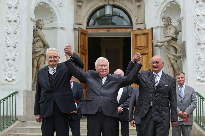 25 lat wolności. Wałęsa spotkał się z dawnymi koalicjantami