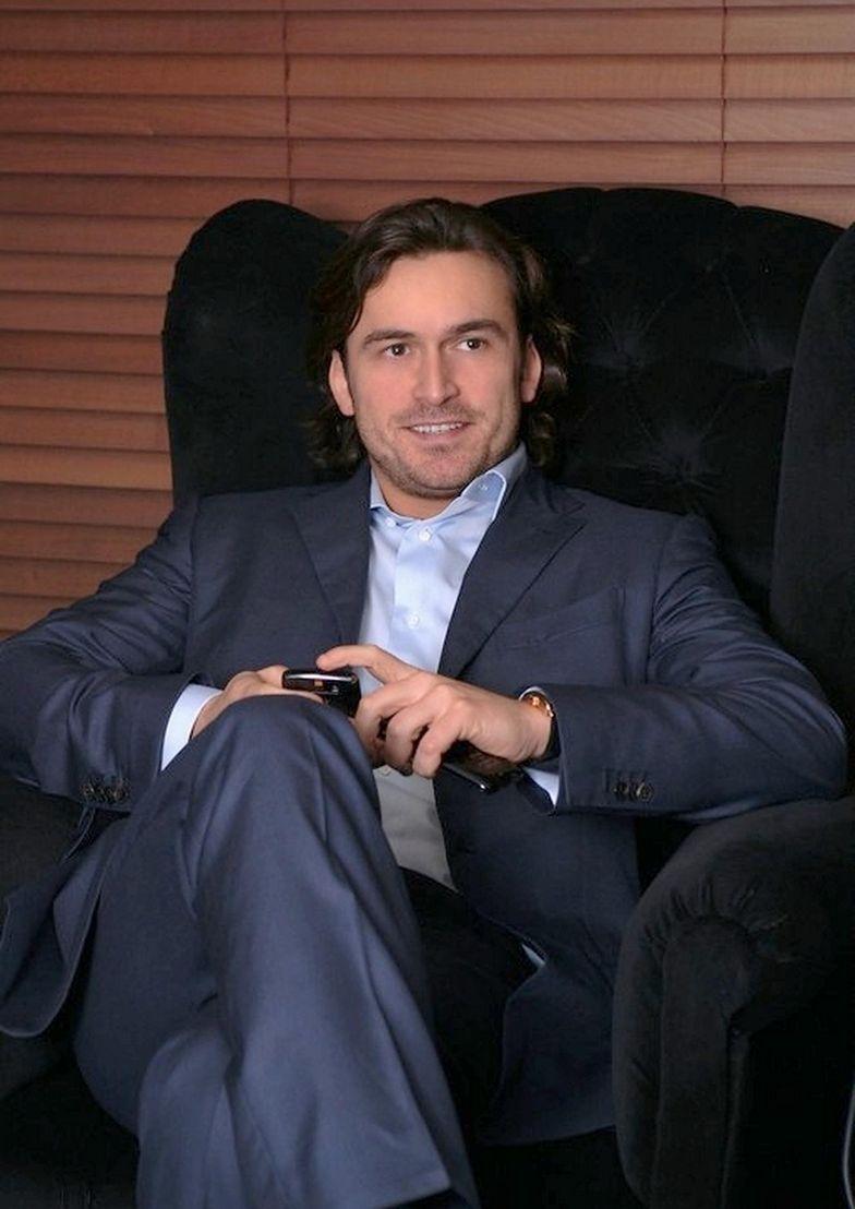 Prezes W Investments Piotr Wiśniewski w 2013 r.