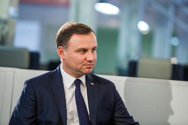 """Prezydent Duda w Chinach. """"Liczymy na większe zaangażowanie chińskiego biznesu w Polsce"""""""