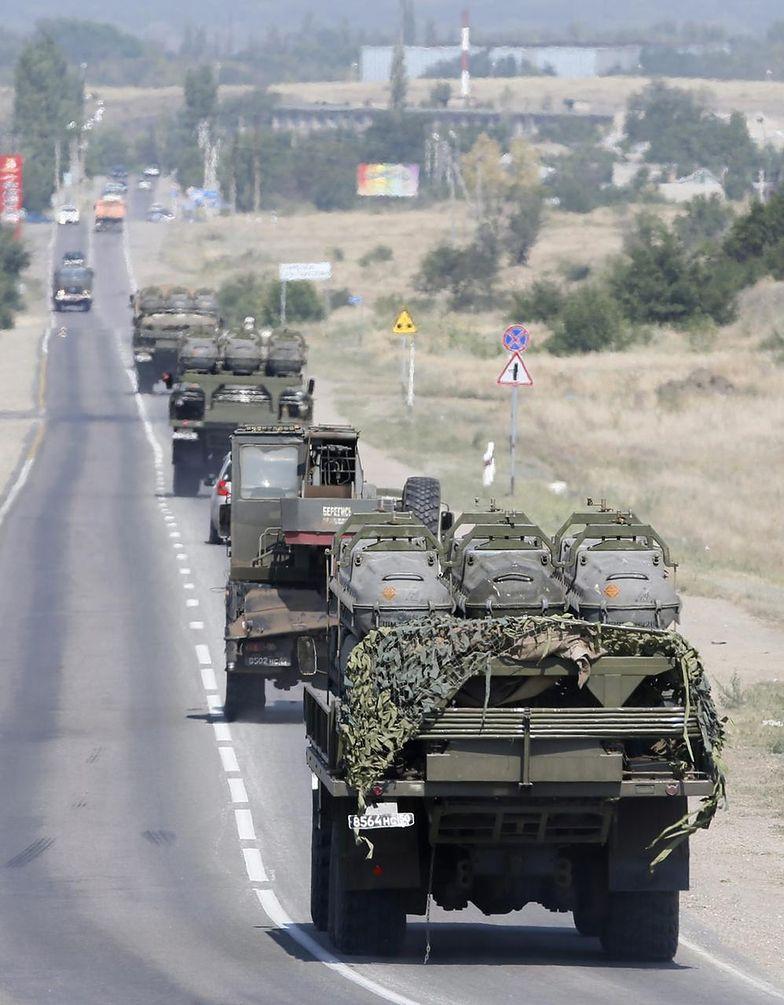 Separatyści w Doniecku dostali posiłki z Rosji - 30 czołgów i 120 wozów pancernych