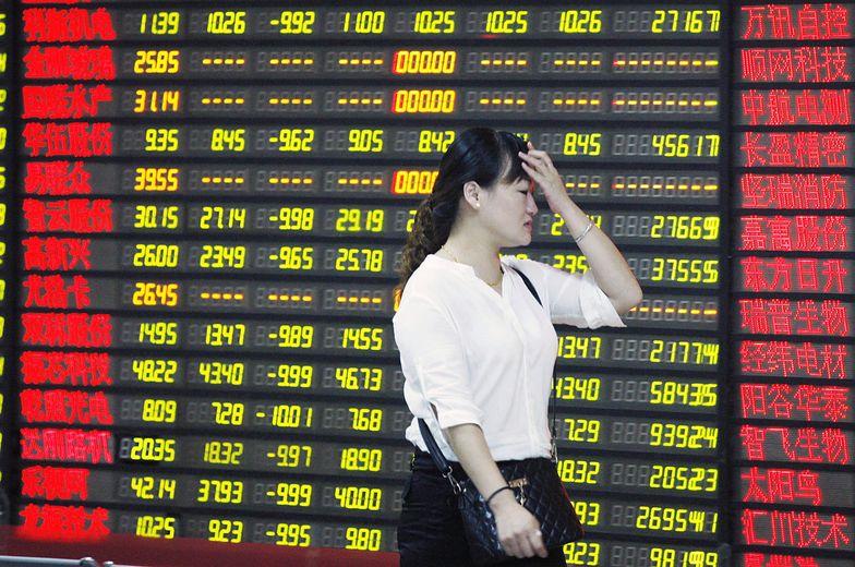 Krach w Chinach. Totalna porażka władz, które chciały zahamować spadki