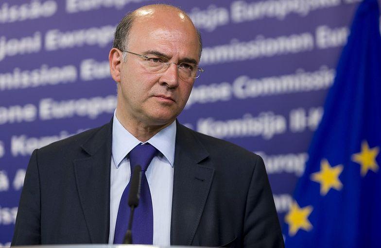 Na zdj. Pierre Moscovici