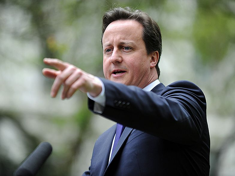 David Cameron, premier Wielkiej Brytanii