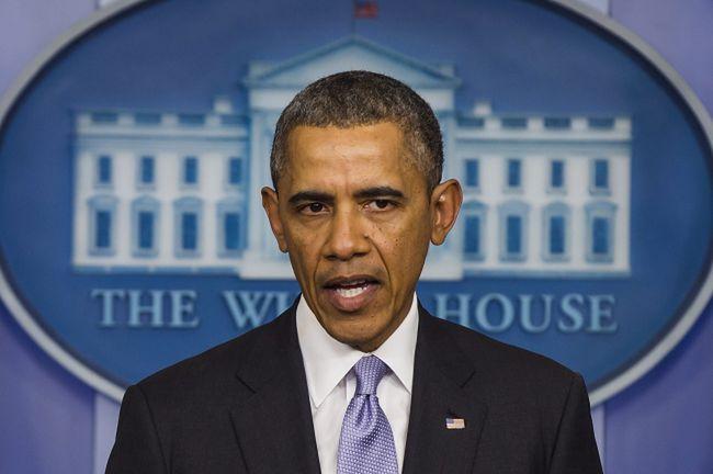 Na zdj. Barack Obama