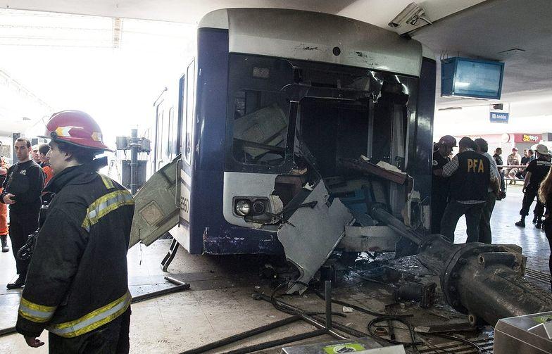 Katastrofa podmiejskiego pociągu w Argentynie