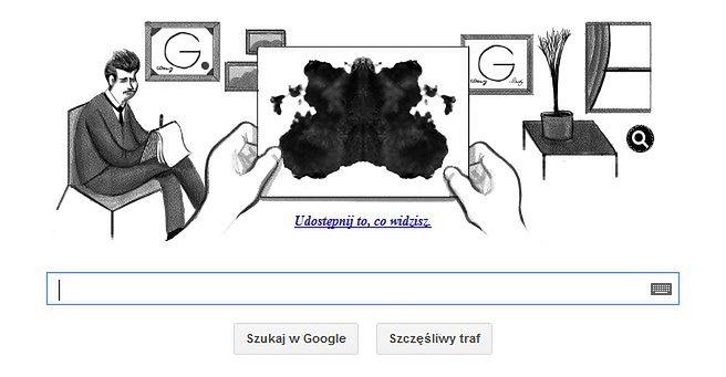 Hermann Rorschach - 129 rocznica urodzin z Google Doodle