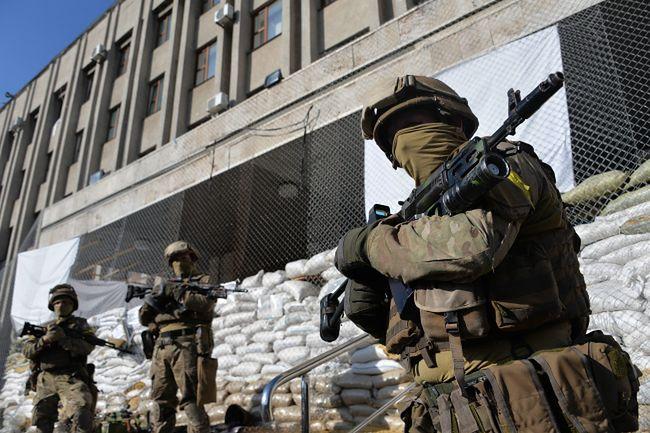 Oddziały ukraińskie opanowały Słowiańsk i Kramatorsk