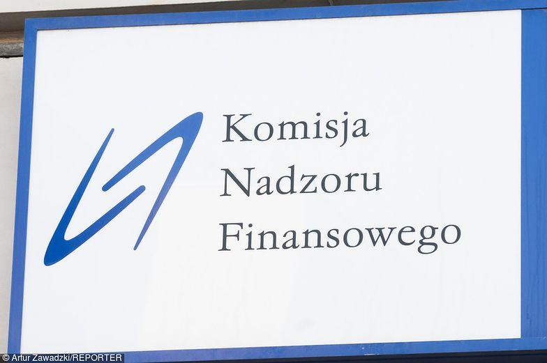 Komisja Nadzoru Finansowego nałożyła 700 tys. zł kary na Rafako