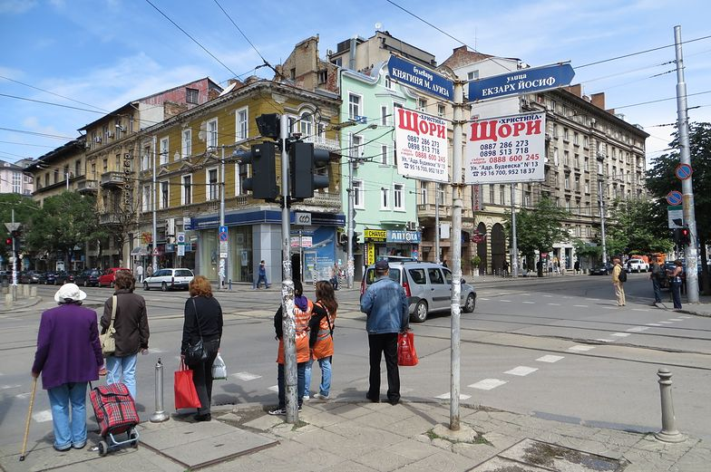Sofia, stolica Bułgarii.