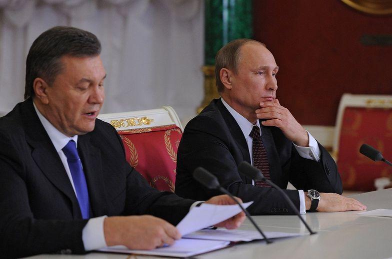 Janukowycz poprosił Putina o atak na Ukrainę