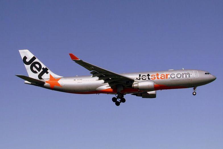 Zdarzenie sprowokowała stewardesa linii lotniczych Jetstar