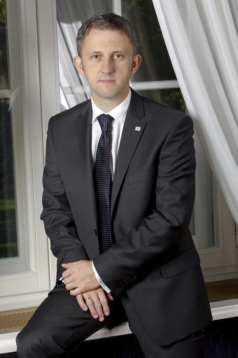 Wiceprezes Grupy Azoty Andrzej Skolmowski.